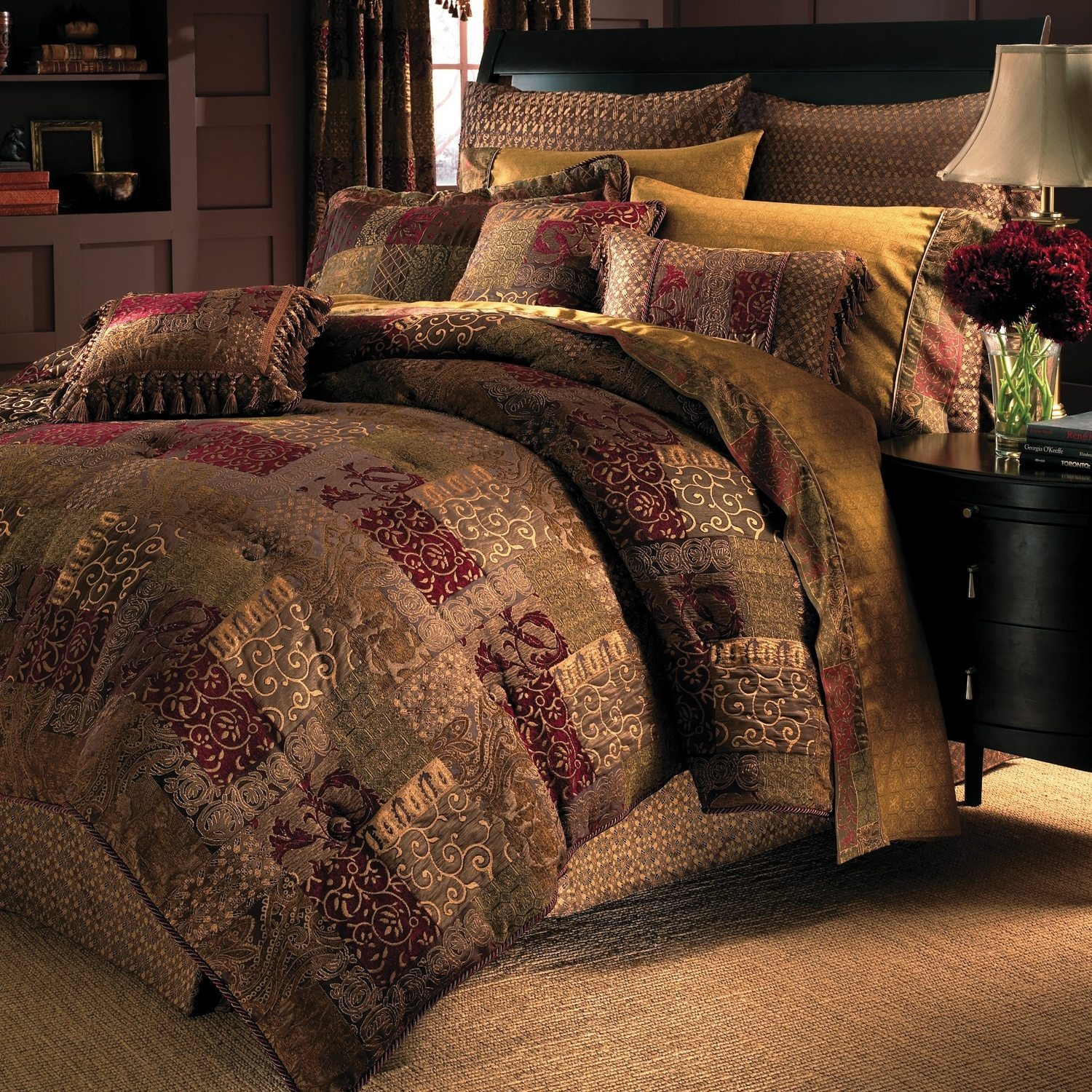 traditional bedroom comforter sets photo - 1