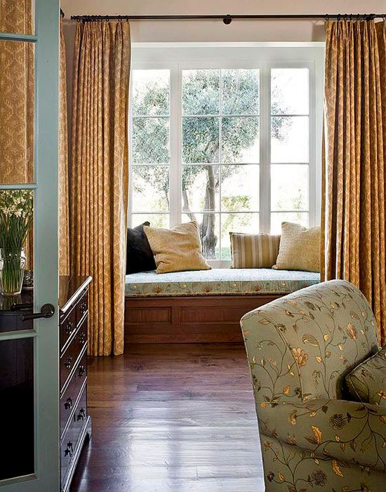 traditional bedroom curtain ideas photo - 10