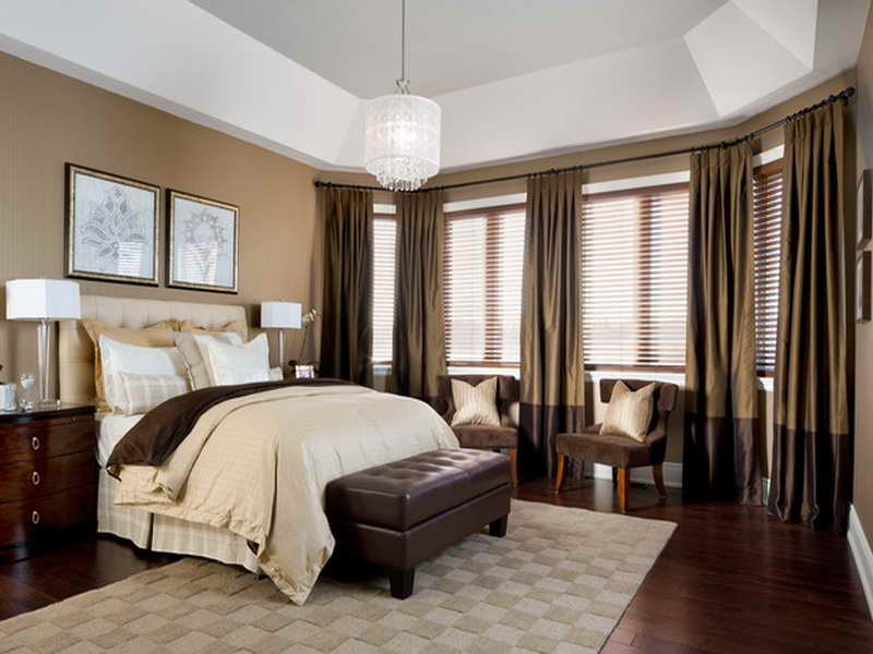 traditional bedroom curtain ideas photo - 4