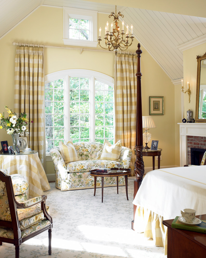traditional bedroom curtain ideas photo - 6