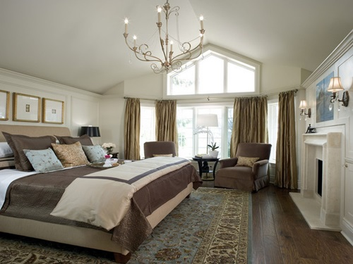 traditional bedroom curtain ideas photo - 9