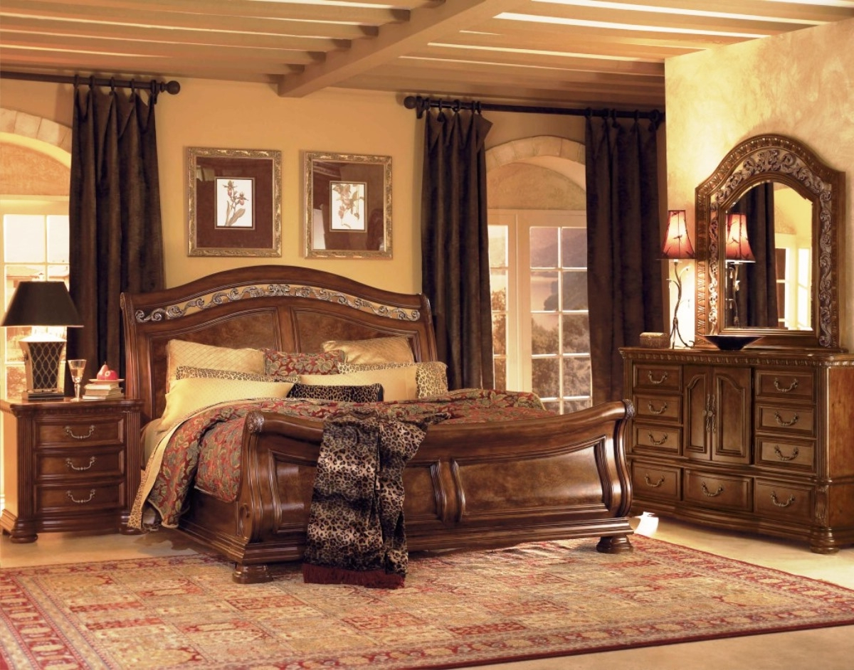 traditional bedroom lamps photo - 7