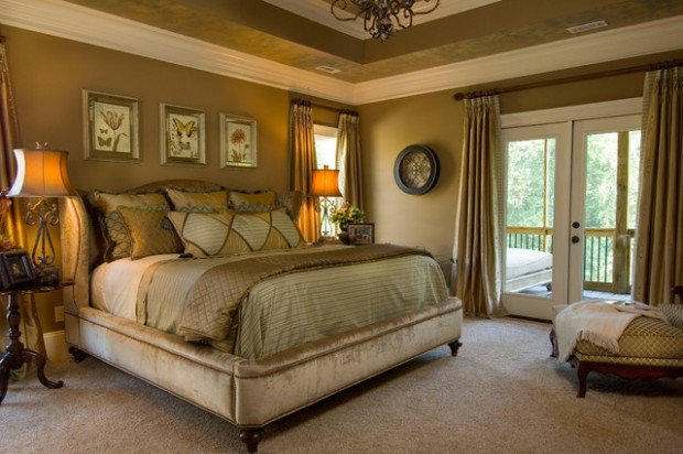 traditional bedroom paint colors photo - 1