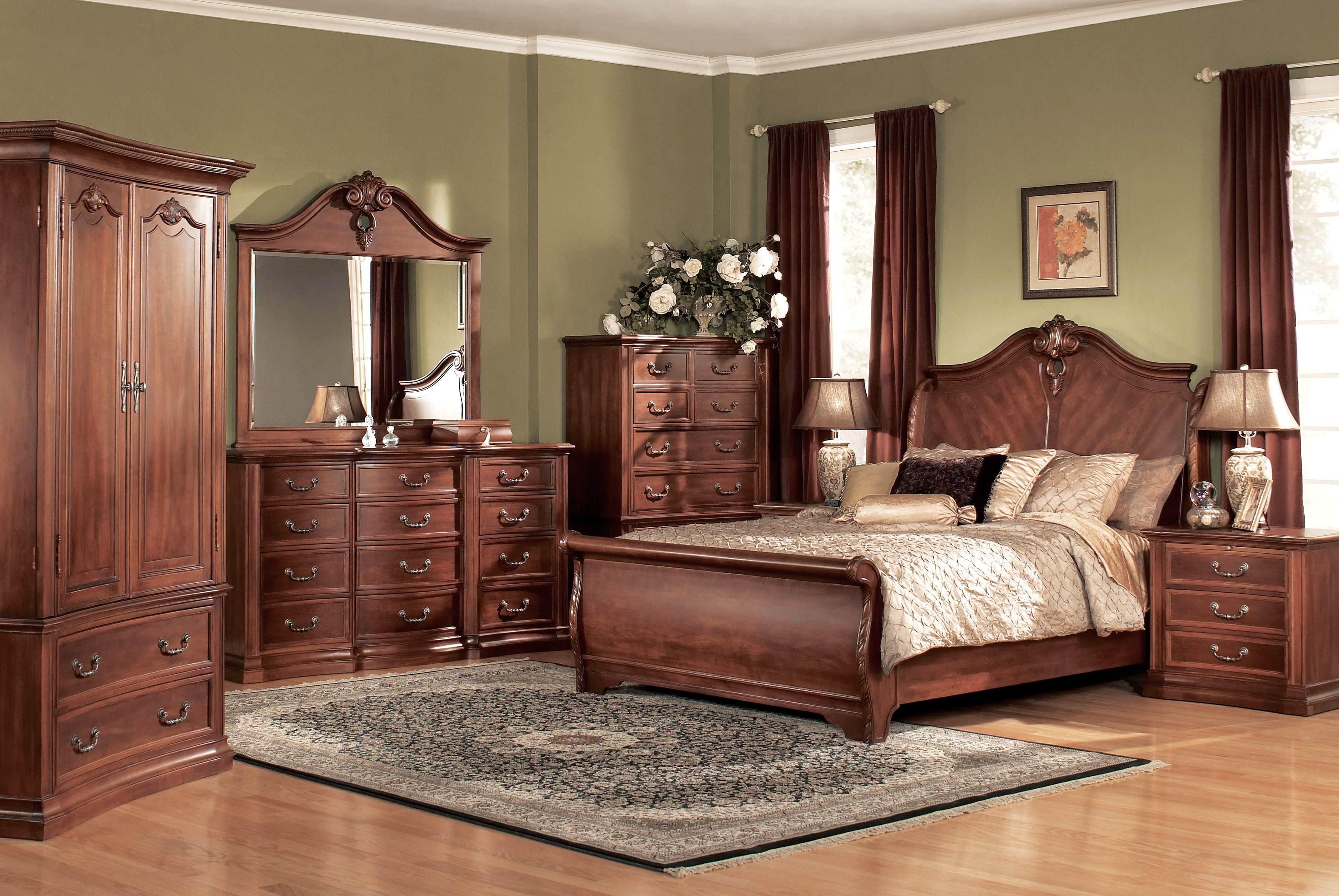 traditional bedroom styles photo - 7