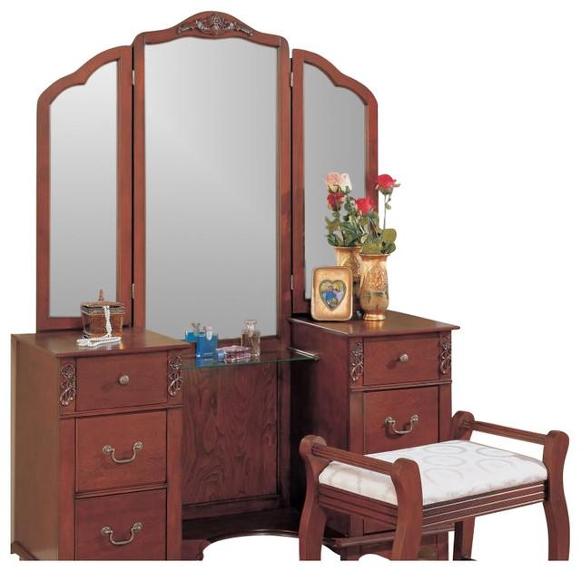 traditional bedroom vanity photo - 3