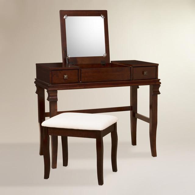 traditional bedroom vanity photo - 6