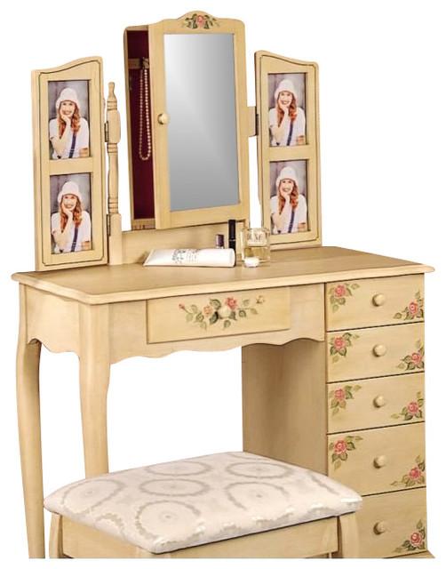 traditional bedroom vanity photo - 7