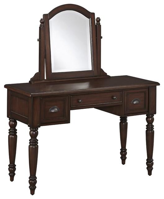 traditional bedroom vanity photo - 9