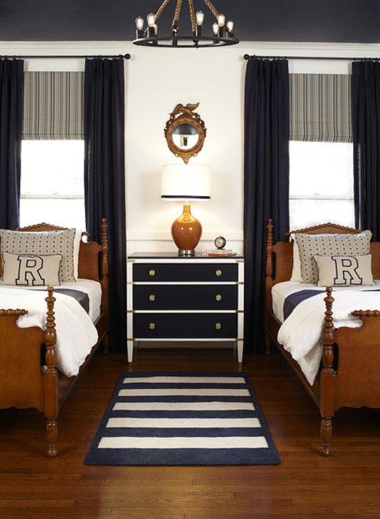 traditional boys bedroom interiors photo - 10