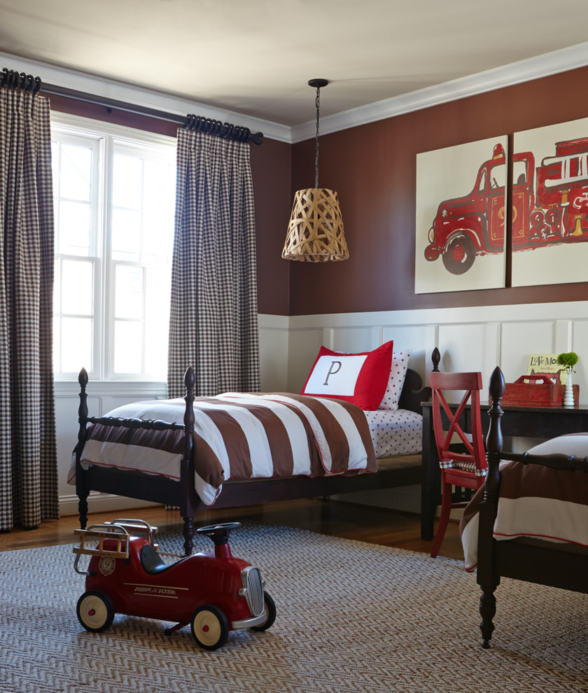 traditional boys bedroom interiors photo - 3