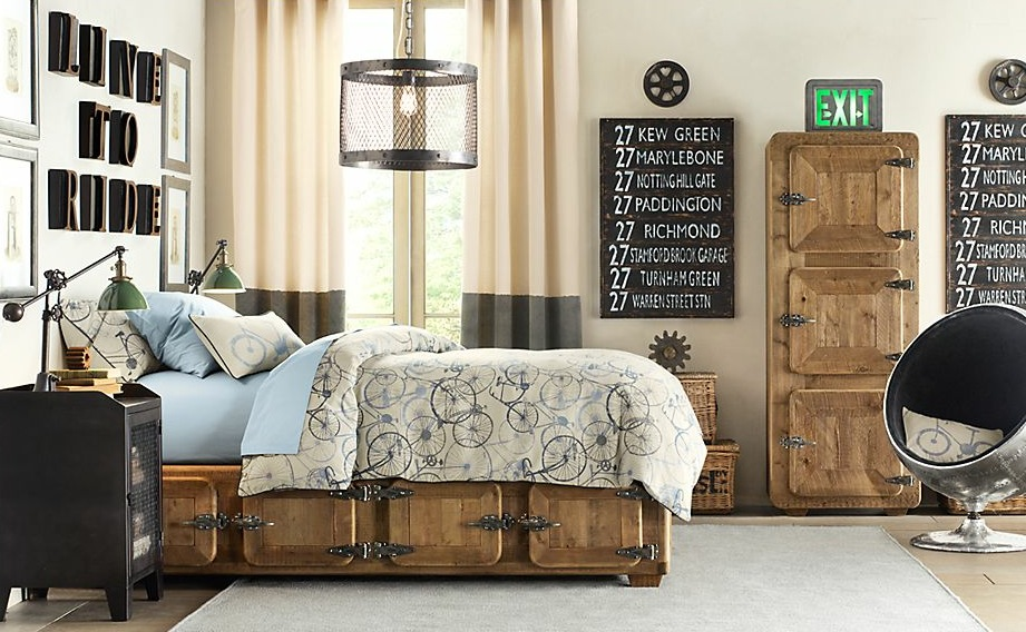 traditional boys bedroom interiors photo - 4