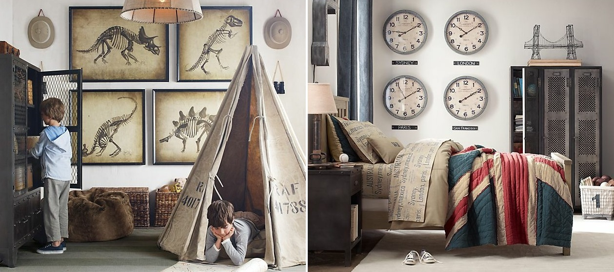 traditional boys bedroom interiors photo - 7