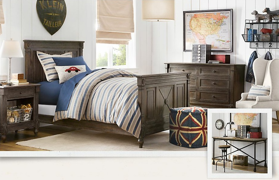 traditional boys bedroom interiors photo - 9