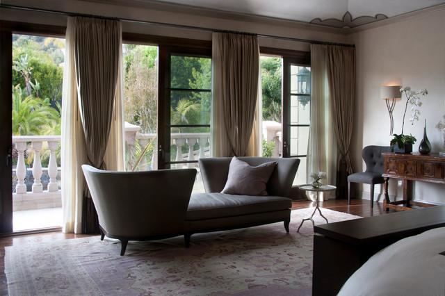 traditional contemporary bedroom design photo - 10