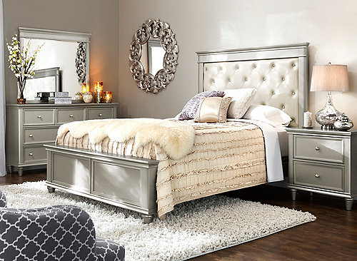 traditional contemporary bedroom sets photo - 2