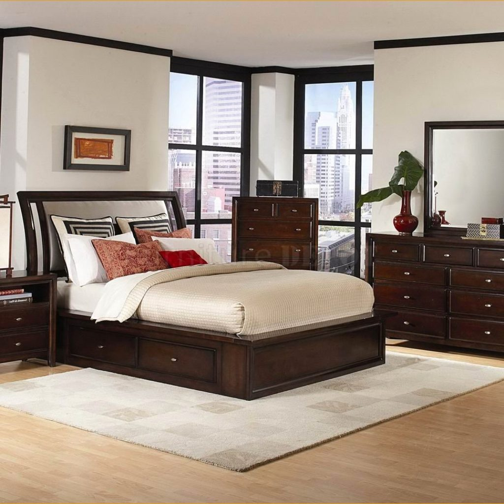 traditional contemporary bedroom sets photo - 7
