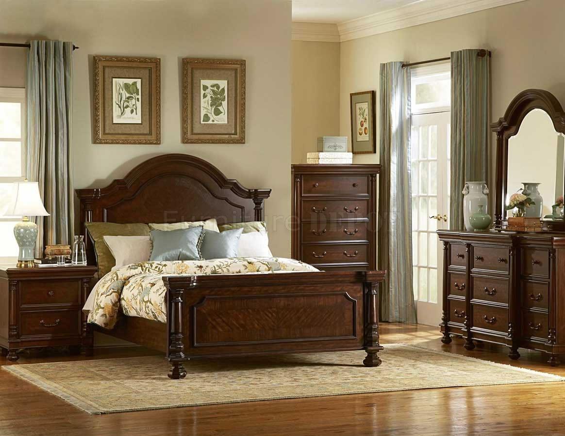traditional designer bedroom furniture photo - 2