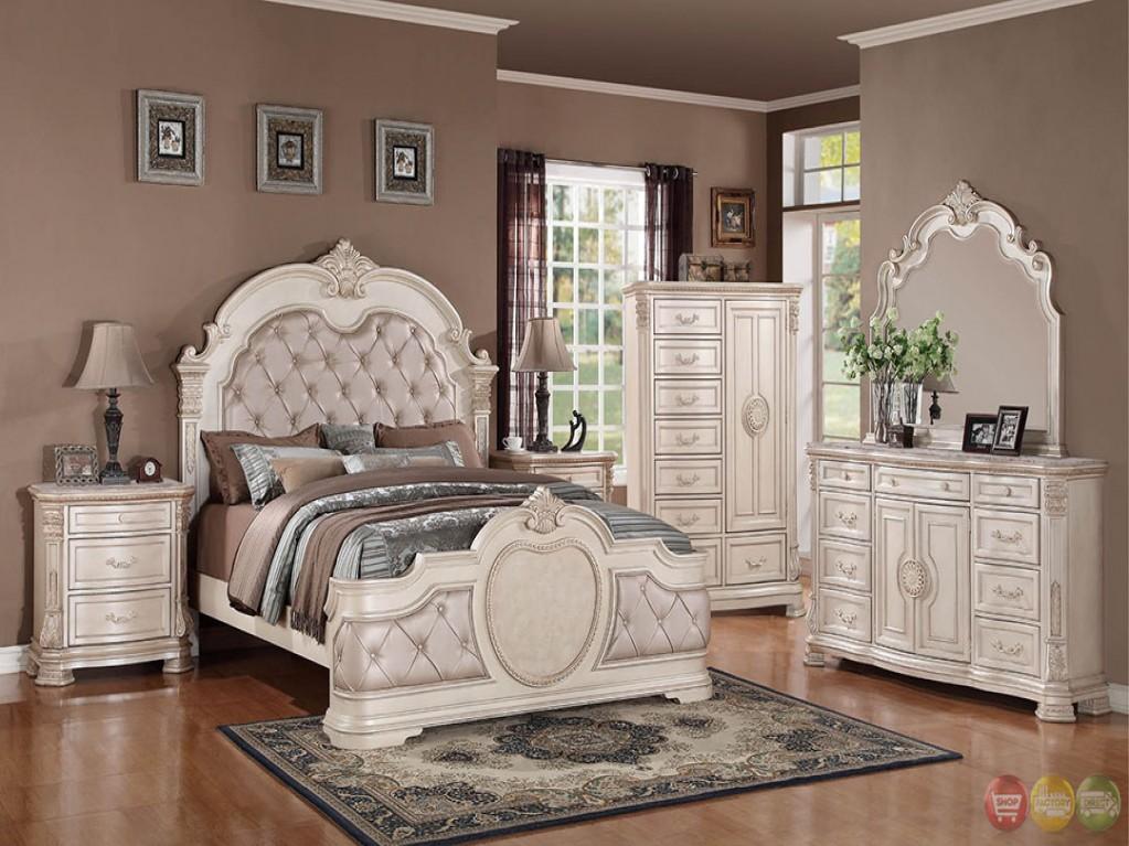 traditional designer bedroom furniture photo - 4