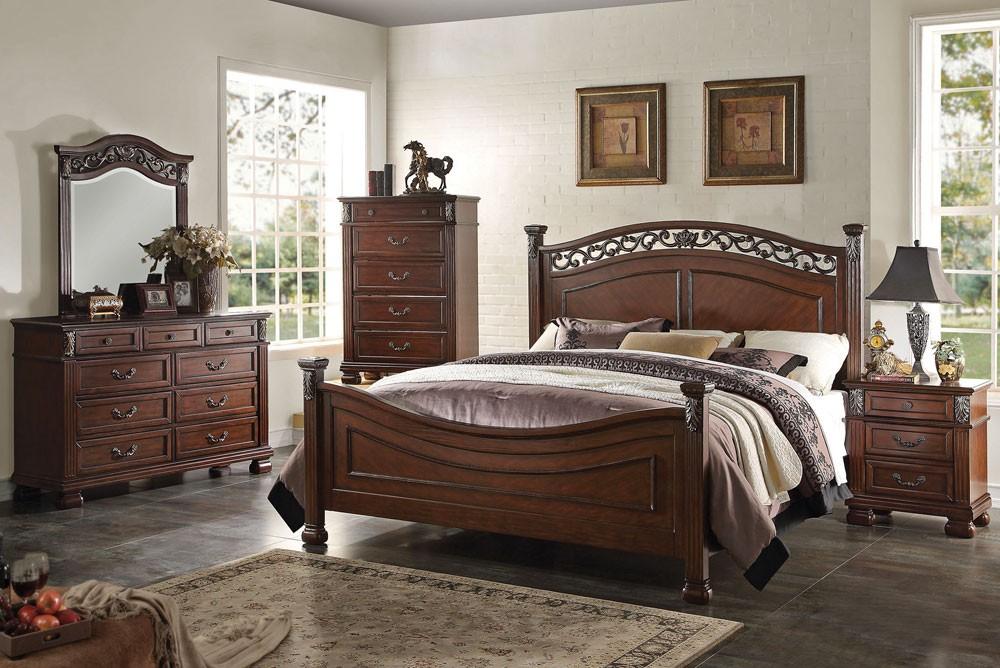 traditional designer bedroom furniture photo - 5