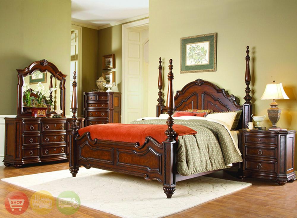 traditional designer bedroom furniture photo - 7