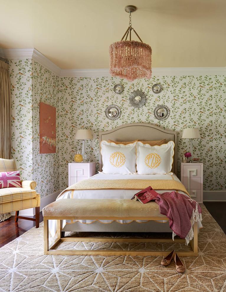 traditional english bedroom design photo - 10
