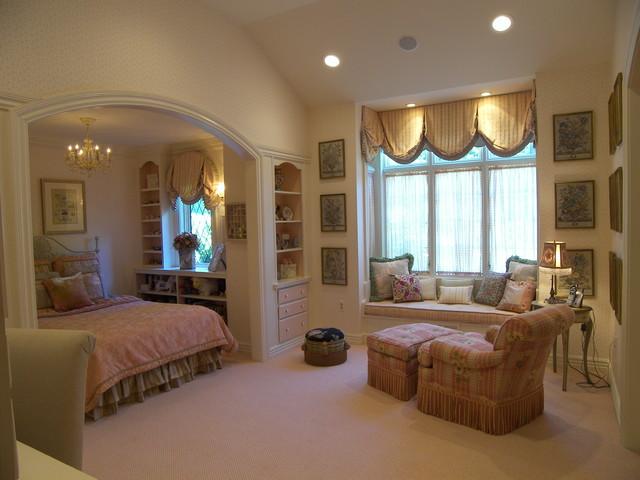 traditional english bedroom design photo - 4