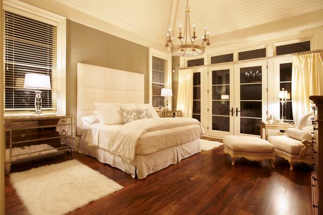 traditional english bedroom design photo - 6