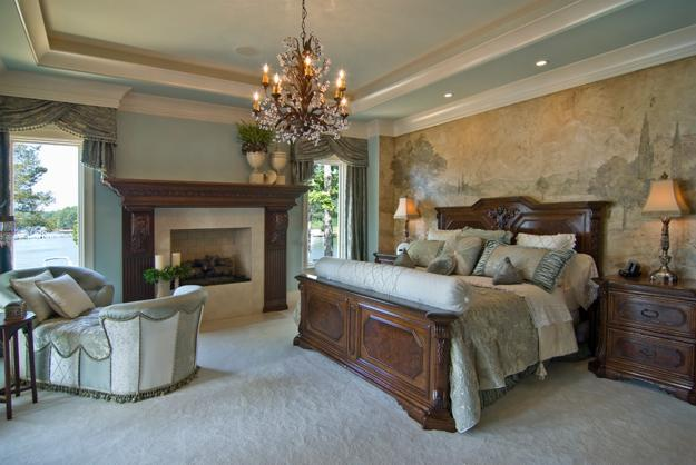 traditional english bedroom design photo - 9