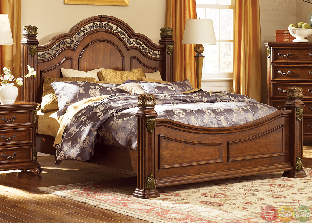 Traditional European Style Bedroom Furniture Photo   4