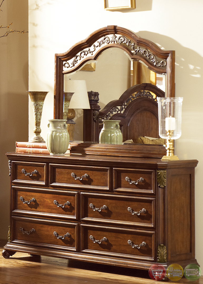 traditional european style bedroom furniture photo - 6