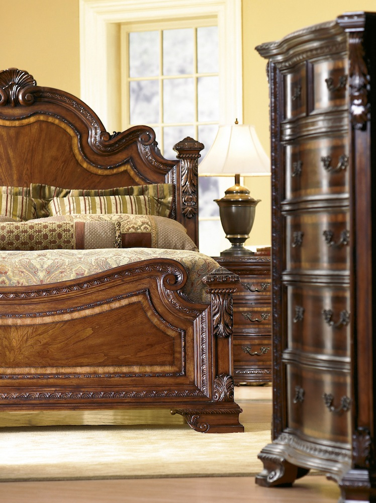 traditional european style bedroom furniture photo - 7