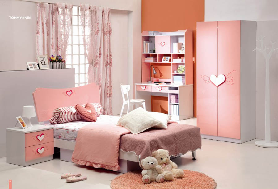 traditional girls bedroom furniture photo - 1