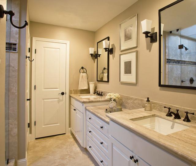 traditional home bathroom ideas photo - 2