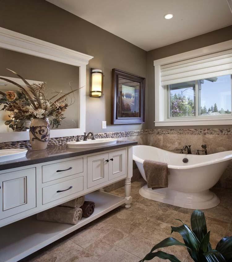 traditional home bathroom ideas photo - 6