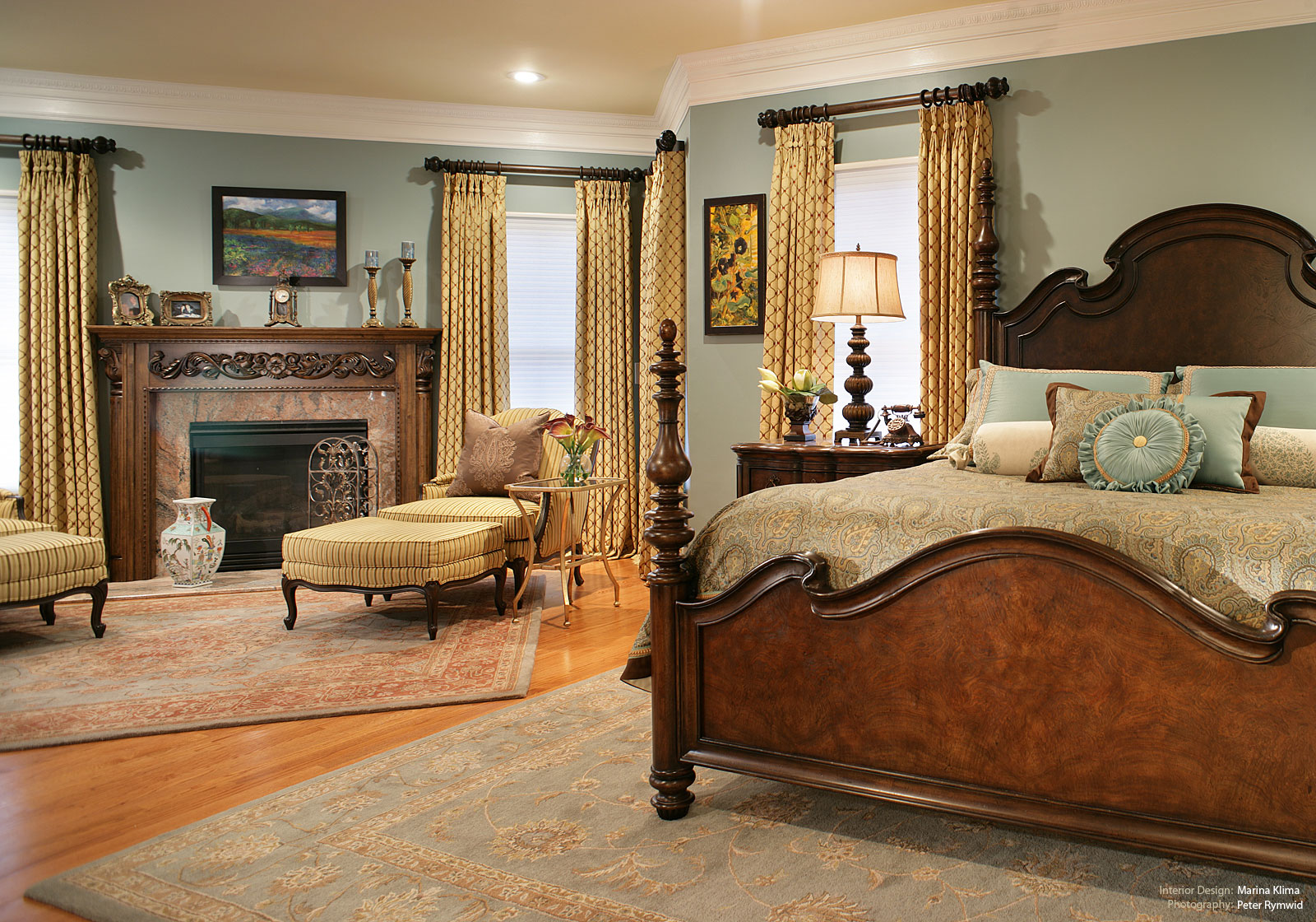 Bedroom Ideas Traditional Home traditional home bedroom designs | hawk haven
