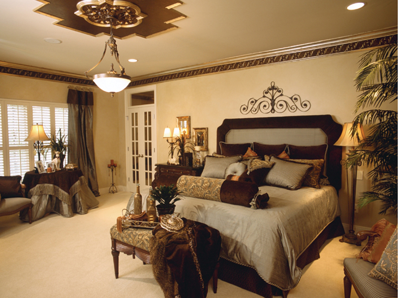 traditional home bedroom designs photo - 7