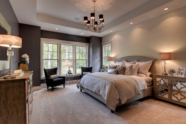 traditional home bedroom designs photo - 8