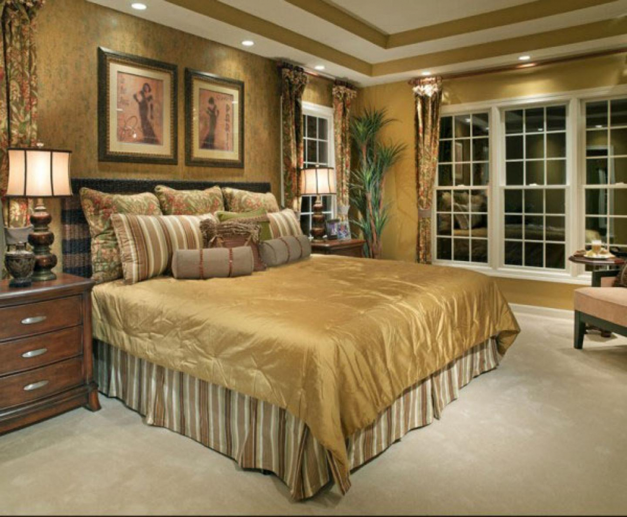 traditional home bedroom photos photo - 6