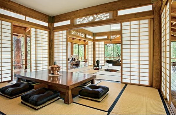 traditional japanese house interior photo - 4