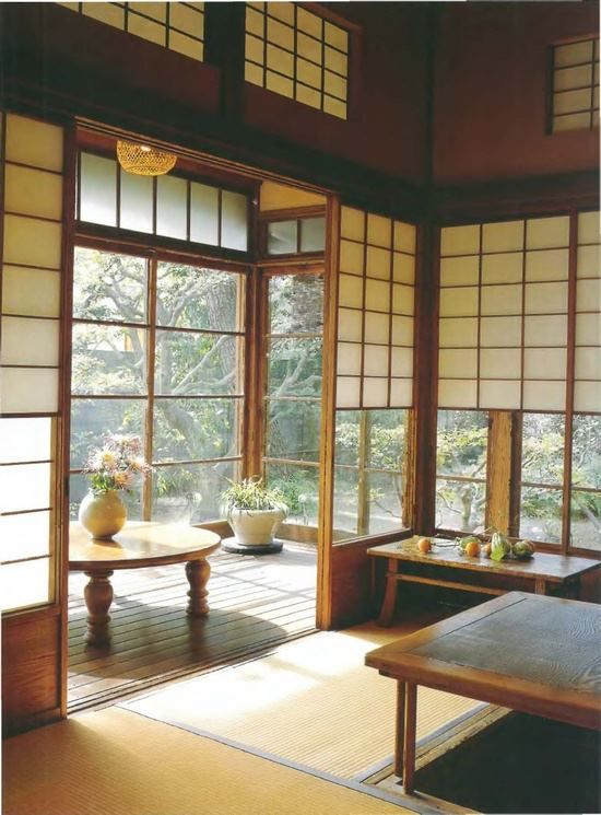 traditional japanese house interior photo - 7
