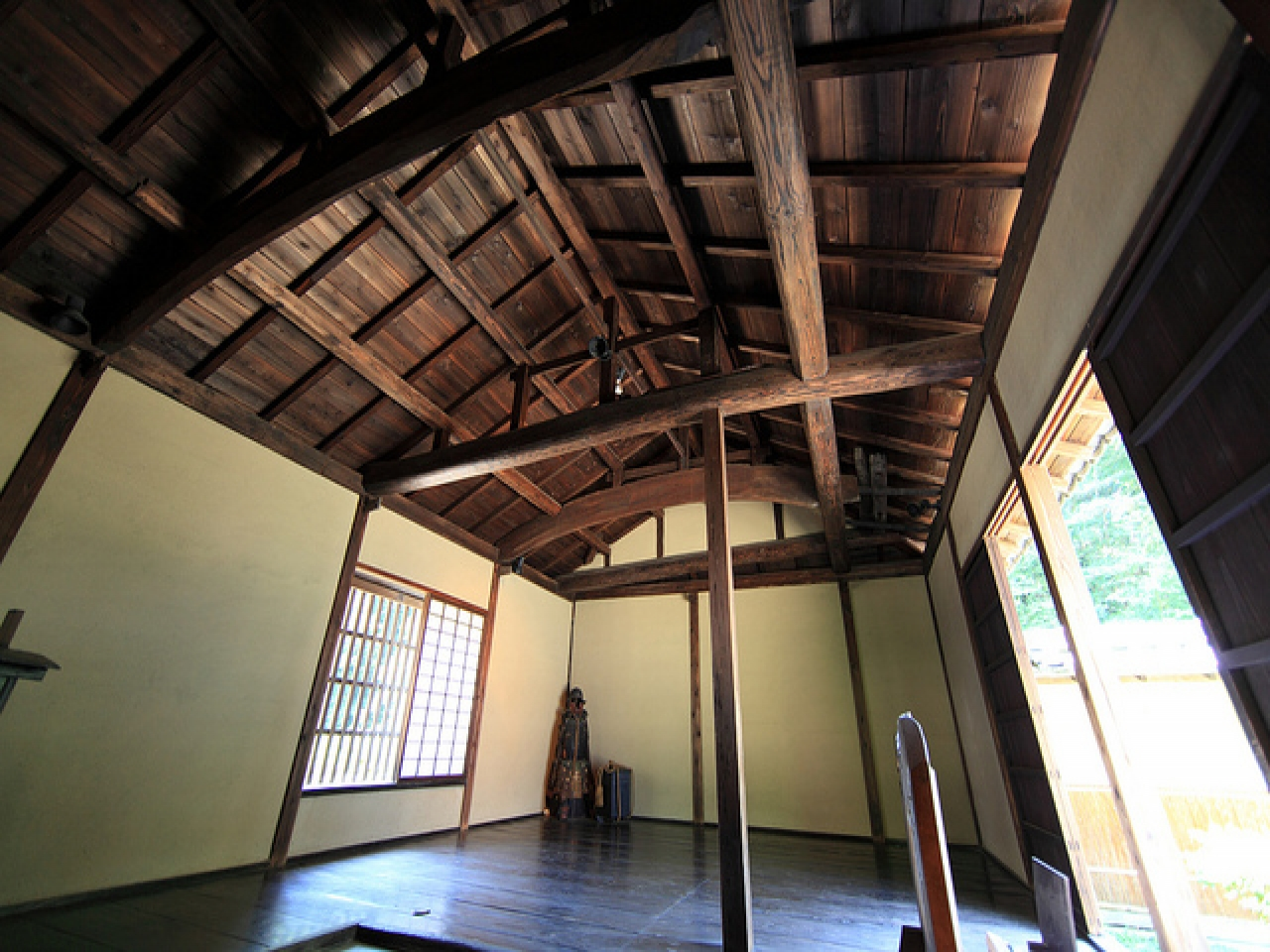 traditional japanese house interior photo - 9