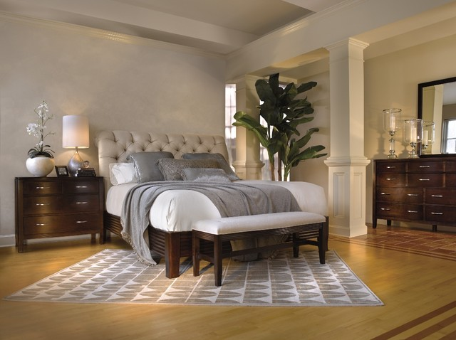traditional modern bedroom photo - 7
