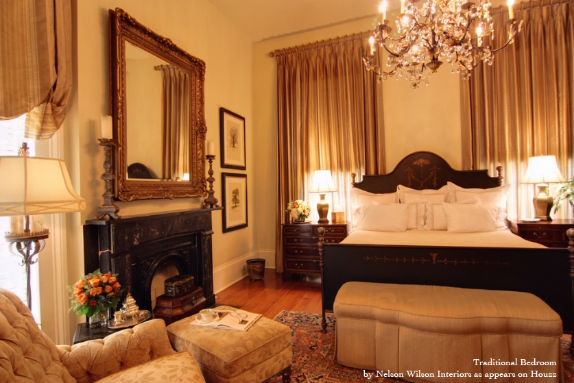 traditional modern bedroom decorating photo - 3
