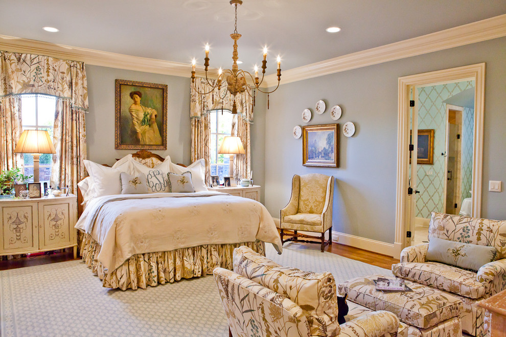 traditional modern bedroom decorating photo - 6