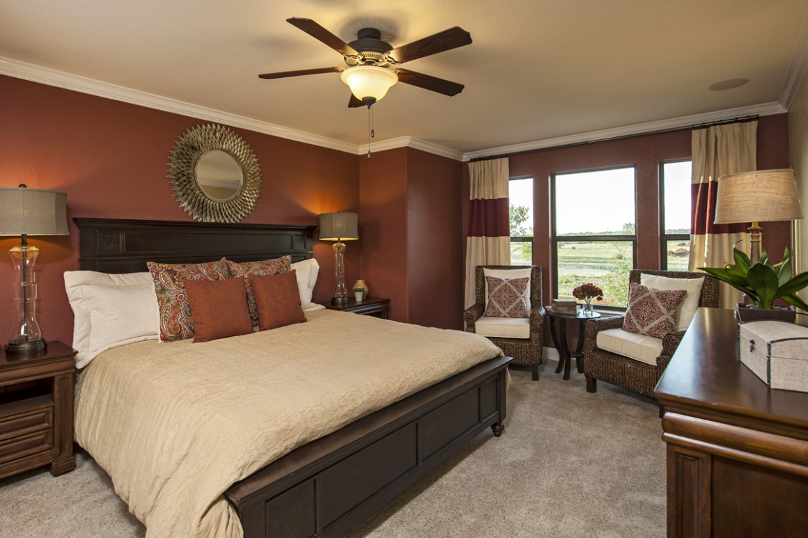traditional modern bedroom decorating photo - 7
