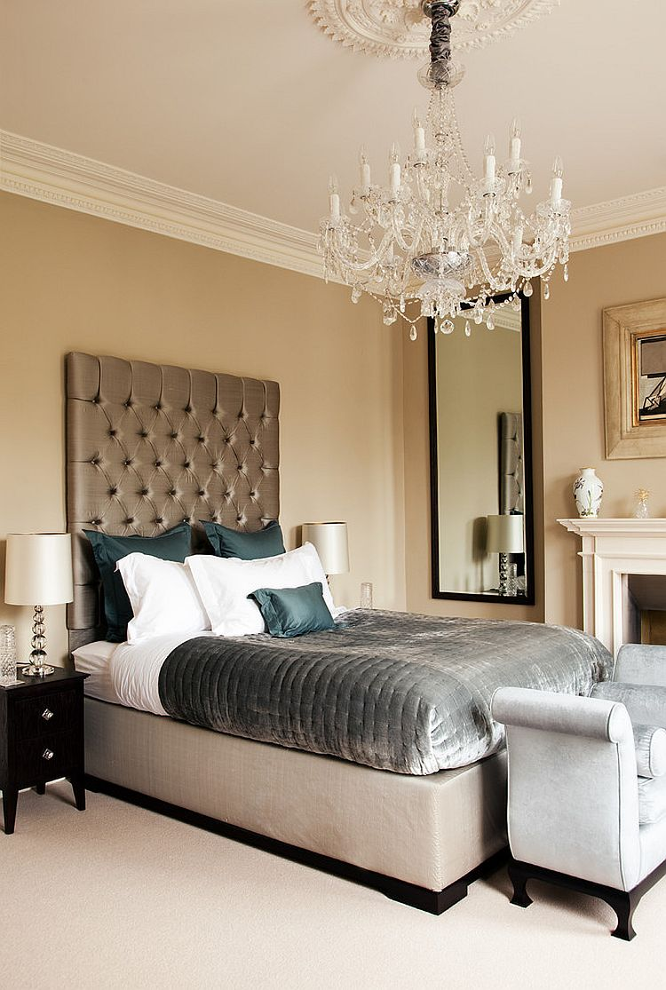 traditional modern bedroom decorating photo - 8