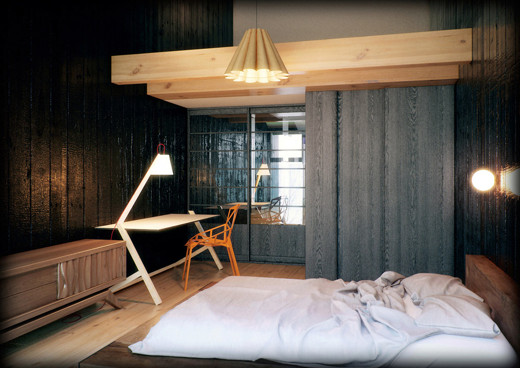 traditional modern bedroom decorating photo - 9