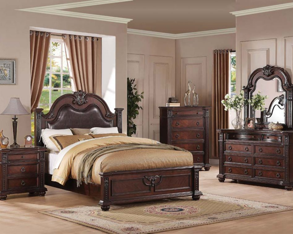 traditional poster bedroom sets photo - 7