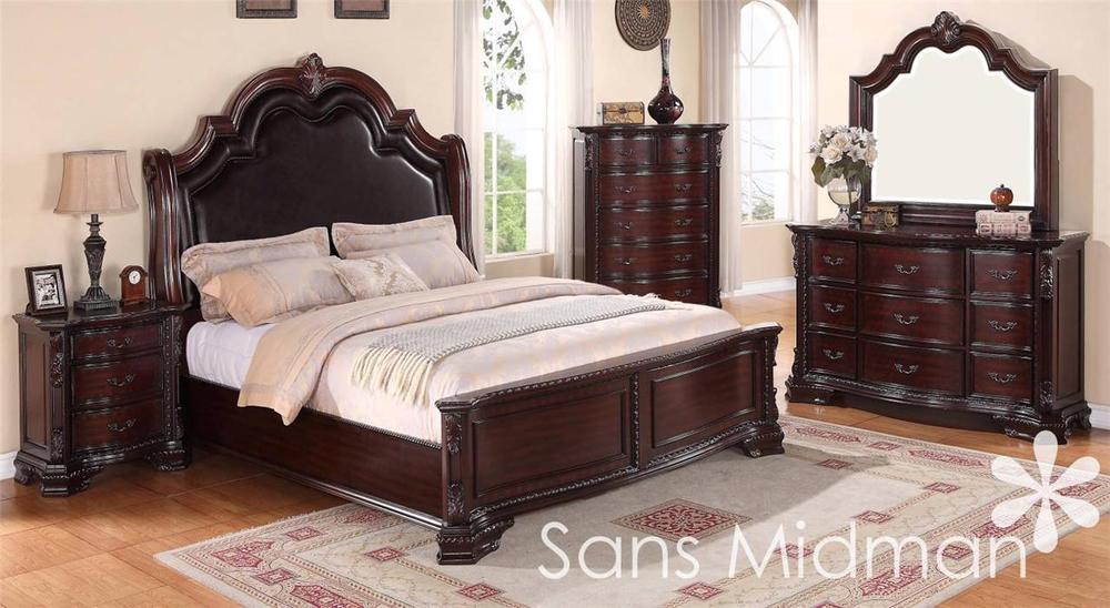 traditional queen bedroom sets photo - 2