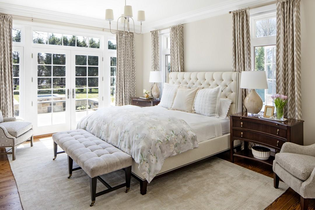 traditional romantic bedroom photo - 6